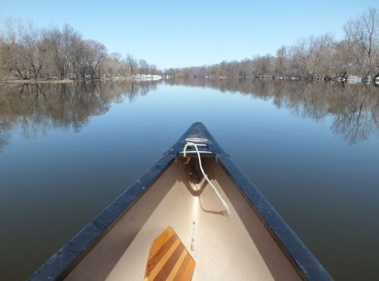 First spring canoe ride 008