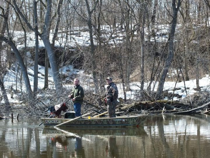 First spring canoe ride 041