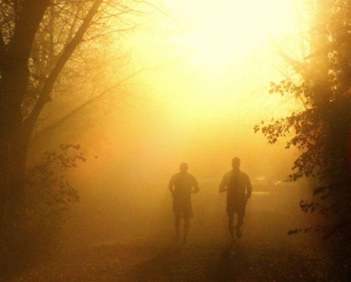 Sunrise Running Men
